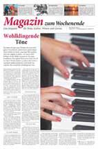 Rhein Neckar Zeitung Magazin: Bericht über einen Klavierkurs