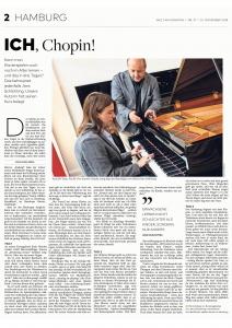 """""""Ich, Chopin"""": Artikel der """"Welt am Sonntag"""""""